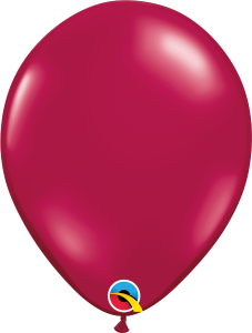 Sparkling Burgundy Qualatex Balloons