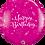 Thumbnail: Happy Birthday Shining Star Print Qualatex Balloons