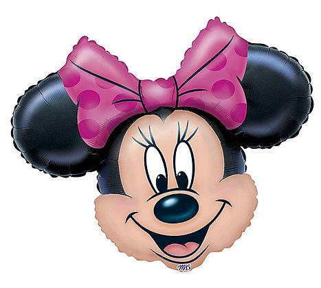 Minnie Mouse Head Balloon
