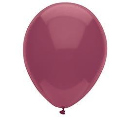 Burgundy New Looks Balloons