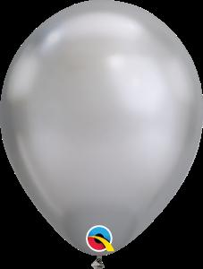 Chrome Silver Qualatex Balloons