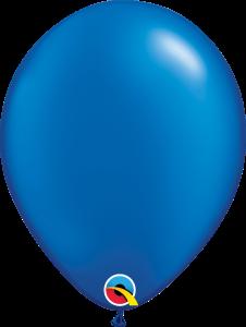 Pearl Sapphire Blue Qualatex Balloons