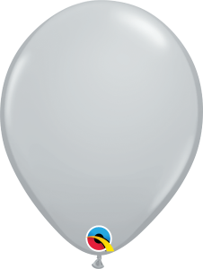 Gray Qualatex Balloons