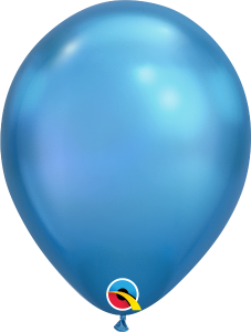 Chrome Blue Qualatex Balloons