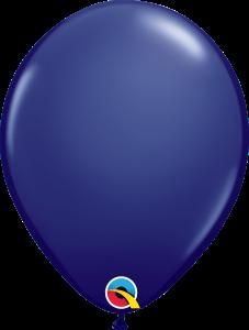 Navy Qualatex Balloons