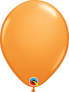 Orange Qualatex Balloons