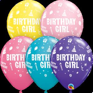 Birthday Child Print Qualatex Balloons