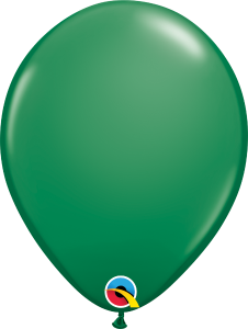 Green Qualatex Balloons