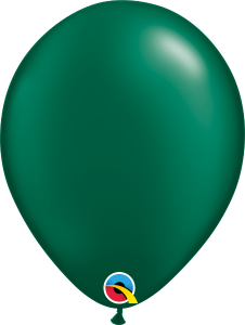 Pearl Forest Green Qualatex Balloons
