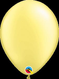 Pearl Lemon Chiffon Qualatex Balloons