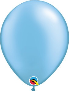 Pearl Azure Qualatex Balloons
