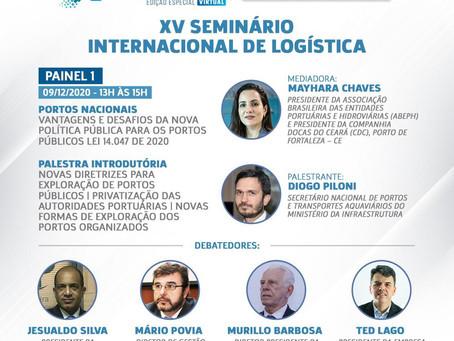 """""""A Visão do Futuro para o Porto de Fortaleza"""" será tema de Webinar da FGV Transportes"""