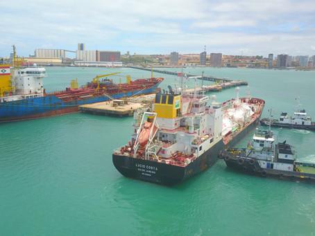 Movimentação nos portos públicos cresce 5,68% em 2020