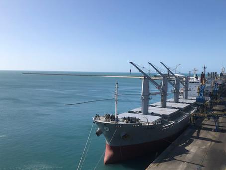 Fluxo de cargas no porto do Mucuripe cresceu o dobro da média nacional