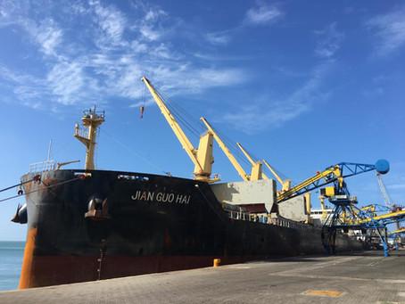 Segundo maior pólo trigueiro do país, Porto de Fortaleza realiza operação simultânea