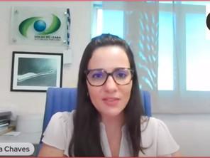 Projetos e potencial logístico do Porto de Fortaleza são discutidos em live com Mayhara Chaves