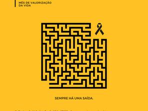 Setembro Amarelo: CDC faz campanha de conscientização no mês de prevenção ao suicídio