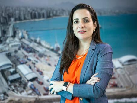 Mayhara Chaves: Setor de Portos se rende à única mulher presidente
