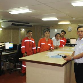 Navio de pesquisa Ridley Thomas passou pelo Porto de Fortaleza em agosto de 2019