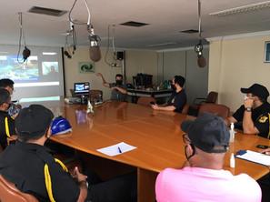 Capacitação sobre CFTV é realizada para operadores de videomonitoramento do Porto de Fortaleza