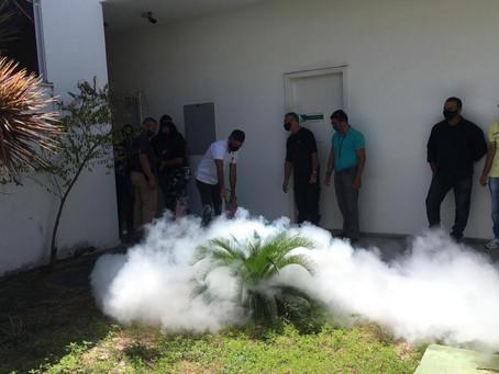Treinamento de Brigada de Incêndio marca programação da CDC no Dia Nacional de Prevenção ao Acidente