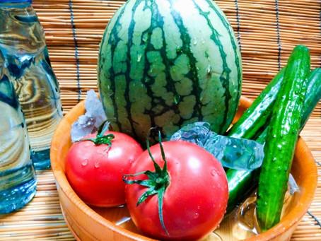 【夏野菜】身体に嬉しい作用