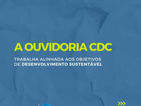 Série de conteúdo sobre a Ouvidoria da CDC encerra com o 16º ODS: Paz, Justiça e Instituições Eficaz
