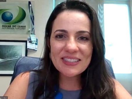 Diretora-presidente da CDC, Mayhara Chaves, modera 1ª live do Conselho Feminino do Brasil Export