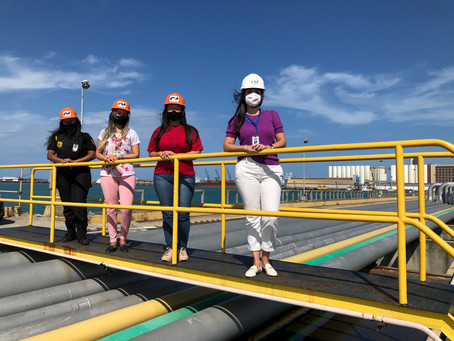 Representatividade feminina com graduação atinge 87% no Porto de Fortaleza