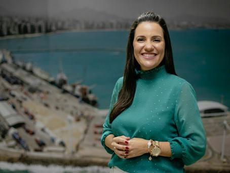Mayhara Chaves: Quebrando perfis, setor de portos se rende à única mulher presidente