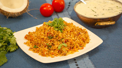 Masala Chickpea Coconut Rice (V) (VGN) -