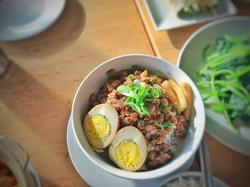 Taiwanese Braised Cinnamon Pork Rice (Lu