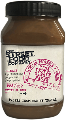 PINK PEPPER GINGER PASTE-The Stree Food Company