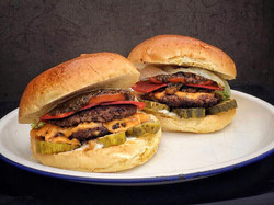 Smashed Cuban Angus Beef Burger - the st