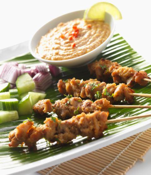 Satay peanut sauce - the street food com