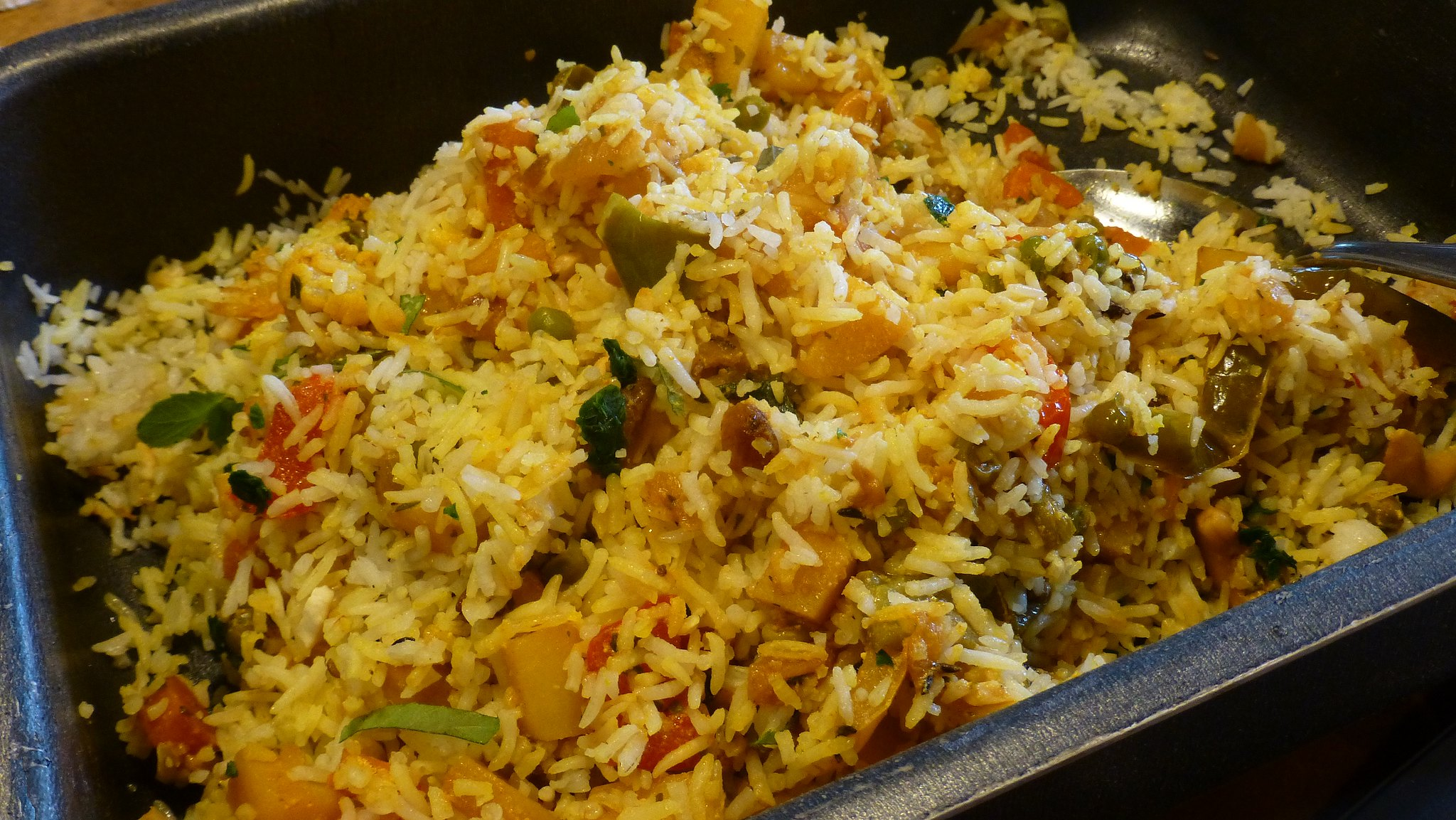 Cumin-Mint Paneer Biriyani (V) - the str