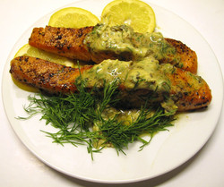 Chimichurri & Dill Scottish Salmon