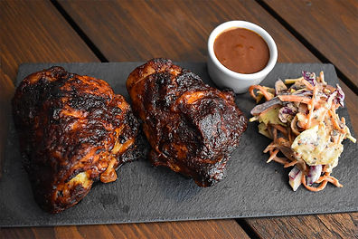 Chilli Fennel and Dark Chocolate BBQ Chicken