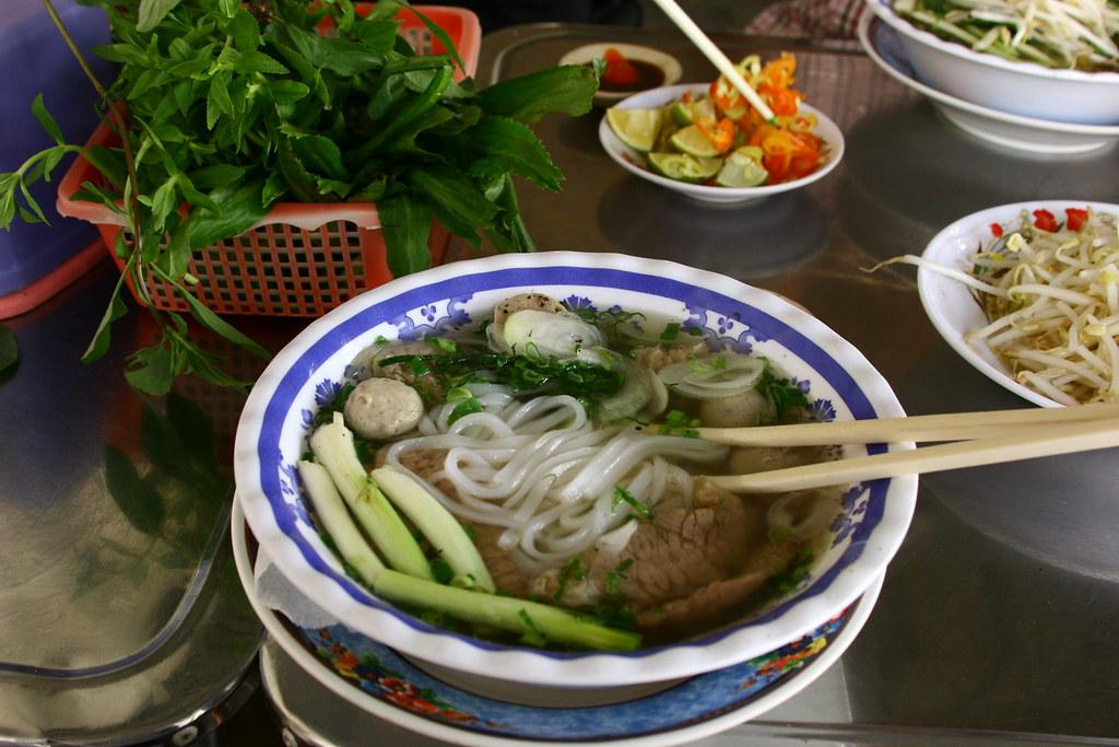 Lemongrass Beef Pho Noodles
