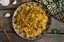 Adas Polo Lentil Rice