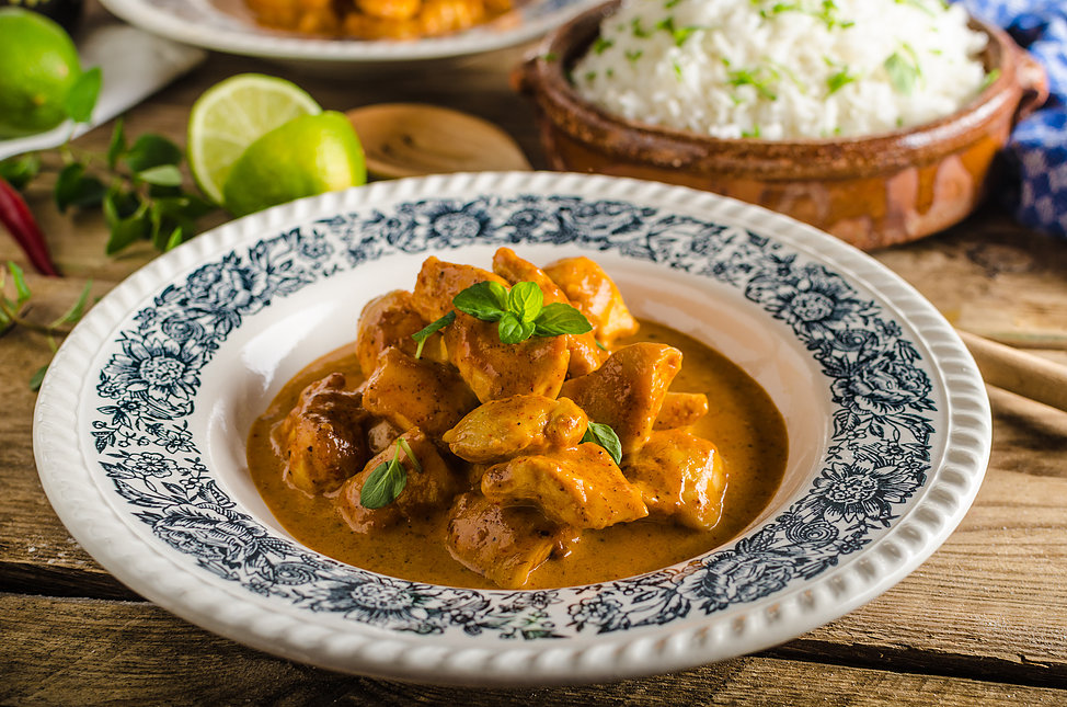Sri Lankan Toasted Coconut Chicken Curry