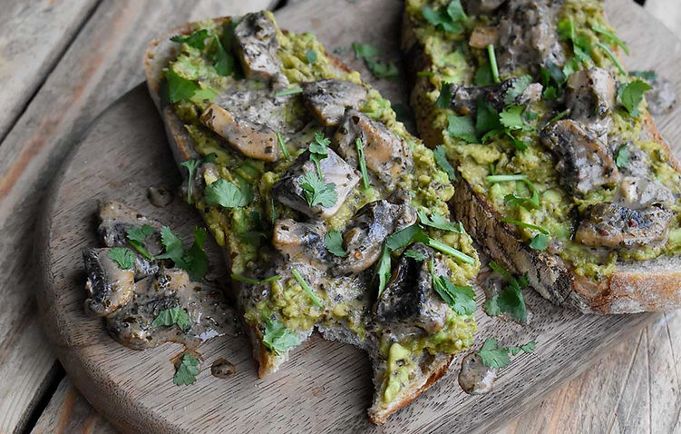 Chimichurri Crushed Avocado Toast (V)