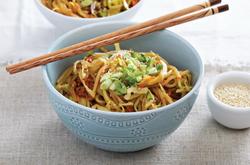 Korean Sesame Noodles