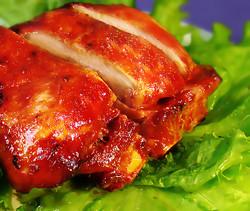 Chinese Caramelised Roasted Pork with Sm