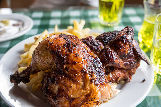 Peruvian Whole Roasted Chicken - the str