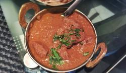 Kaffir Lime Lamb Tomato Curry