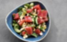 Spicy Watermelon Street Salad