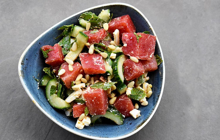 Spicy Watermelon Street Salad