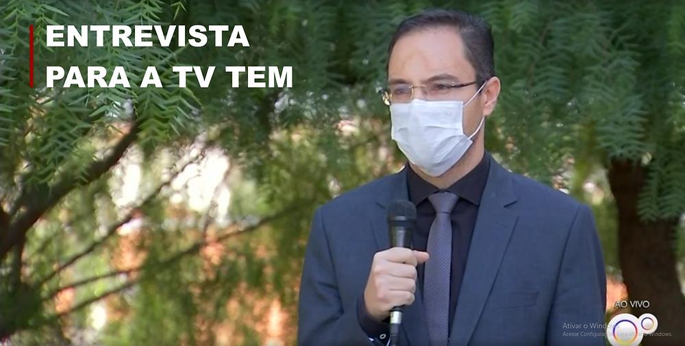 Doutor Fabiano em Entrevista para TV Tem