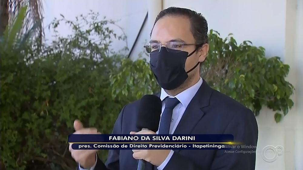 Dr Fabiano Darini em Entrevista para a TV TEM